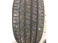 1 X 245 40 ZR 19 Pirelli PZero Tyre