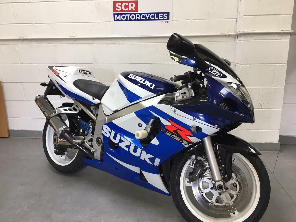 SUZUKI GSXR600 K1 GSXR 2001 great condition for age like