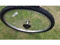Rodi Scout alloy 26 inch rear mountain bike wheel w/ tyre & tube