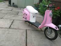 Razor electric bike, moped , scooter