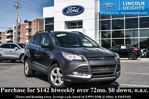 2014 Ford Escape SE 4WD - LEATHER - BLUETOOTH - REAR PARKING SEN