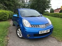 Nissan Note 1.4 16V ACENTA (blue) 2008