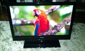 """Bush LED19134HD 19"""" HD Ready LED TV/DVD Very good condition with remote control"""