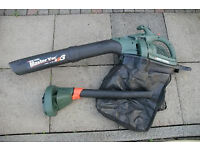 Black & Decker Master Vac Model: GW250 Leaf Blower / Vacuum with Collection Bag