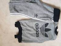 Adidas track suit size 6