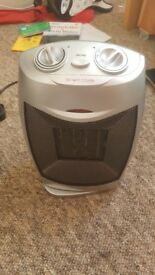 Perfect condition plug in rotating portable heater