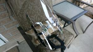 Yamaha Stryker quick release windshield