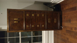 Solid wood dresser with jewellery compartment