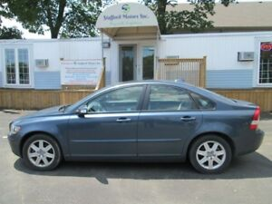 2007 Volvo S40 leather