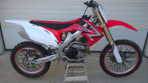 2012 Honda CRF450R Motocross Dirt bike