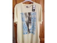 Men's quicksilver t-shirt size M
