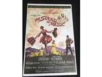 Sound of music movie poster