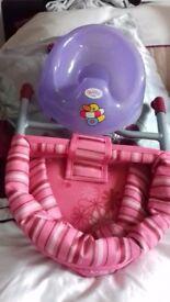 Dolls Potty & Table Seat