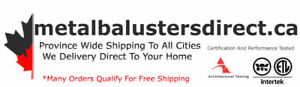 Shop Metal Balusters Direct - Door To Door Home Delivery