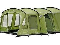 Vango Palena DXL 600 Family tent 6 berth pretty amazing job lot with stove, interior carpet etc