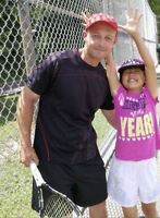 TENNIS LESSONS:Coach Kids & Adults; Instructor & Hitting Partner