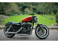 Harley Davidson sportster 1200 forty eight 48