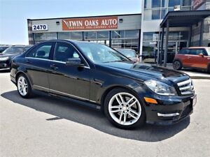 2013 Mercedes-Benz C-Class C 300 4MATIC - SPORT - LEATHER - SUNR