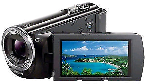 Sony HDR -PJ380 camcorder with projector