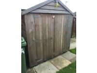 Very good condition garden shed