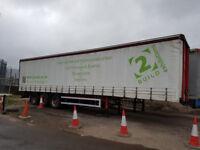 2004 curtain side trailer 13.6 m long mot march 2018