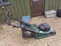 ATCO Viscount 19SE Petrol Lawnmower in Full Working Order