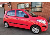 HYUNDAI i10 2010 - 1.2 - FSH - LOW INSURANCE GROUP - ONE OWNER FROM NEW - LONG MOT