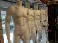 Assorted Mens And Ladies Mannequins