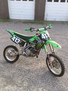 Kawasaki kx85 dirt bike