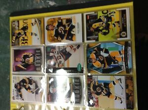 Boston Bruins team cards