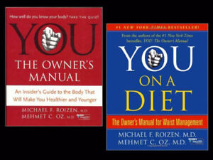"""YOU On a Diet"" – ""YOU The Owner's Manual"" by Drs. Oz & Roizen"