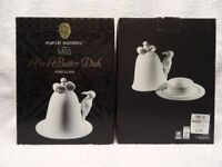 Marcel Wanders for M&S Porcelain Bell Bird Butter Dish, Brand New, Boxed