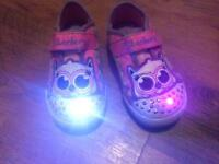 Twinkle Toes Sketchers size 5