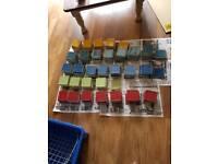Unused Coloured tiles
