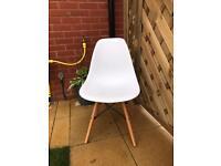 Stylish White Dining Chairs