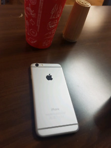 Iphone 6 black 64gb bell and virgin mint condition firm 300