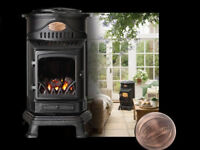 The Provence Portable Gas Heater, Living Flame Heating.