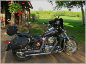 Customized 2004 Kawasaki Vulcan Classic 1500