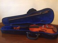 Stentor Student Violin - ½ Size, With Hard Case & Bow