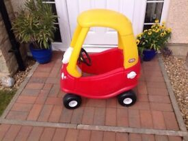 little tykes cosy coupe car