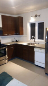 Large 4 1/2.Furnished/utilities/backyard included.Jan 1