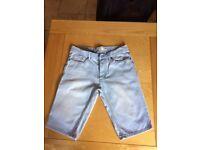 SkinnyTopman/Slim Next Denim Shorts - 2 pairs (trendy teenage, like new)