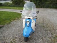 BSA Sunbeam Scooter 250cc 1962 MOD era scooter fully MOTed and and on the road