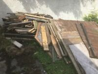 FREE mix of wood. Old shed, beams, struts, posts etc. Must collect.