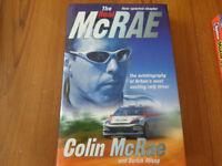 The Real McRae -Colin McRae autobiography book excellent condition