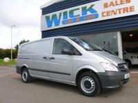 2013 Mercedes-Benz VITO 113 CDI SWB LONG 130ps Van *SILVER* Manual Medium Van