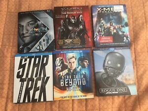 Assorted blu-rays for sale.