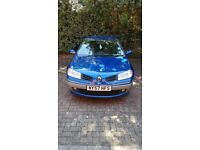 1.5 petrol Renault Megane - great runner FSH. One lady owner.