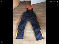 Stihl chainsaw jacket and trousers XL Economy plus***New, never used.