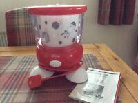 Disney Ariete Ice cream Maker - with manual. As new.